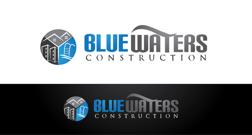 Blue Waters Construction A Logo, Monogram, or Icon  Draft # 199 by FULLMASTERI