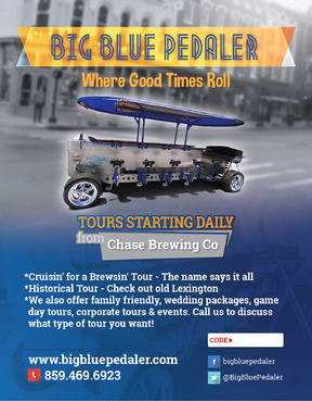 Big Blue Pedaler Marketing collateral  Draft # 58 by vectogravic