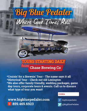 Big Blue Pedaler Marketing collateral  Draft # 59 by vectogravic