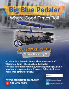 Big Blue Pedaler Marketing collateral  Draft # 60 by vectogravic