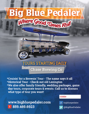 Big Blue Pedaler Marketing collateral  Draft # 61 by vectogravic
