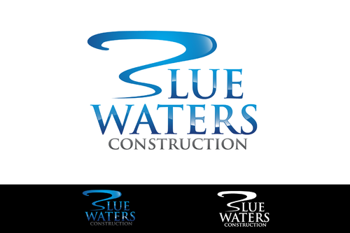 Blue Waters Construction A Logo, Monogram, or Icon  Draft # 238 by NextGeneration