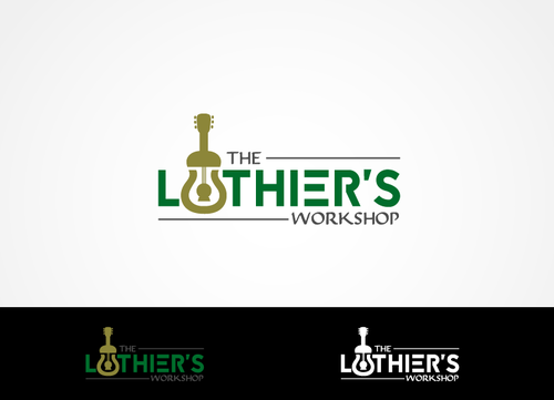 THE LUTHIER'S WORKSHOP A Logo, Monogram, or Icon  Draft # 3 by hands4art