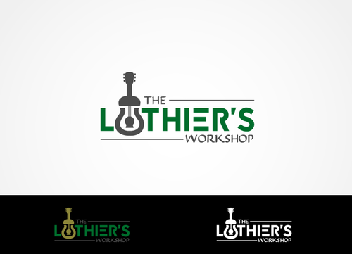 THE LUTHIER'S WORKSHOP A Logo, Monogram, or Icon  Draft # 4 by hands4art