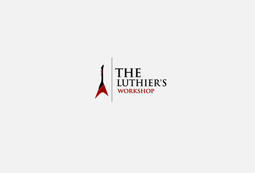 THE LUTHIER'S WORKSHOP A Logo, Monogram, or Icon  Draft # 5 by jackHmill