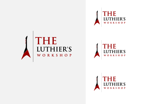 THE LUTHIER'S WORKSHOP A Logo, Monogram, or Icon  Draft # 7 by jackHmill