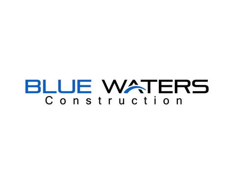 Blue Waters Construction A Logo, Monogram, or Icon  Draft # 261 by muhammadrashid