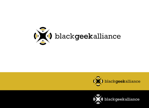 Black Geek Alliance A Logo, Monogram, or Icon  Draft # 151 by StillDunno