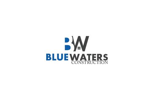 Blue Waters Construction A Logo, Monogram, or Icon  Draft # 273 by salman12315