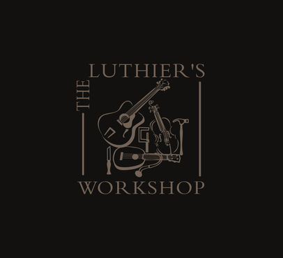 THE LUTHIER'S WORKSHOP A Logo, Monogram, or Icon  Draft # 28 by attidesigns