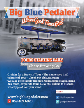 Big Blue Pedaler Marketing collateral  Draft # 64 by vectogravic