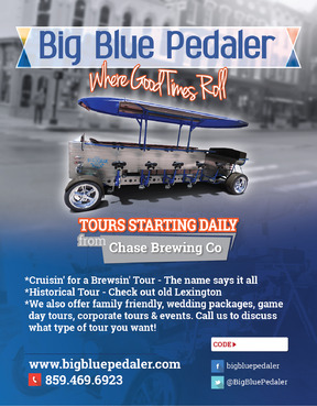 Big Blue Pedaler Marketing collateral  Draft # 66 by vectogravic