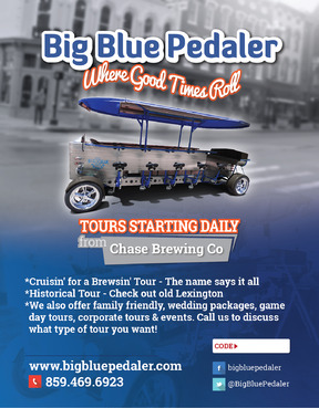 Big Blue Pedaler Marketing collateral  Draft # 68 by vectogravic