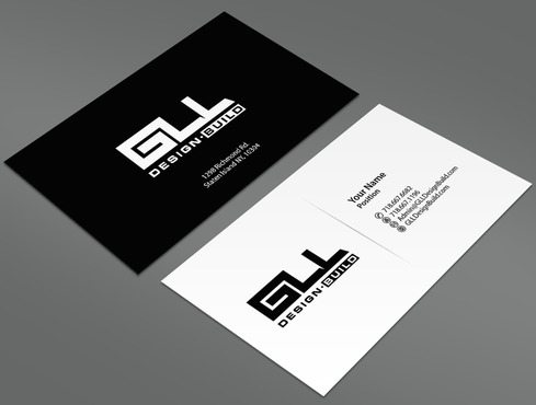 GLL Design-Build, Construction Management  Business Cards and Stationery  Draft # 1 by ArtworksKingdom