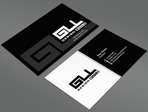 GLL Design-Build, Construction Management  Business Cards and Stationery  Draft # 13 by ArtworksKingdom