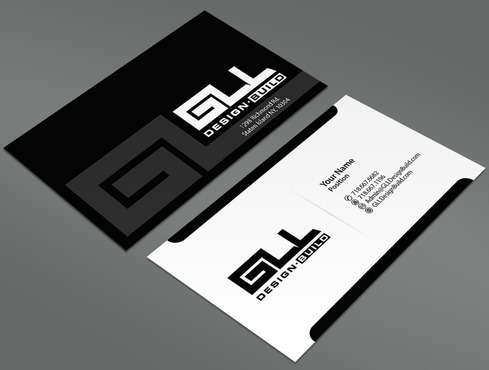 GLL Design-Build, Construction Management  Business Cards and Stationery  Draft # 29 by ArtworksKingdom