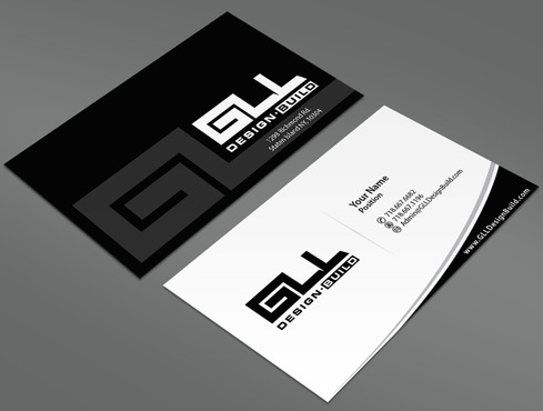 GLL Design-Build, Construction Management  Business Cards and Stationery  Draft # 30 by ArtworksKingdom
