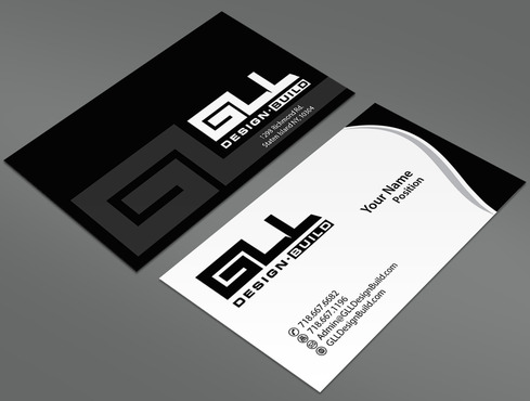 GLL Design-Build, Construction Management  Business Cards and Stationery  Draft # 31 by ArtworksKingdom