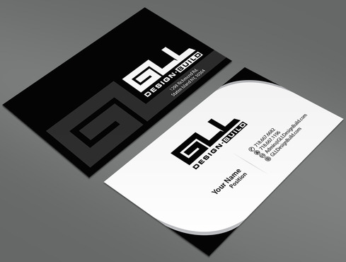 GLL Design-Build, Construction Management  Business Cards and Stationery  Draft # 32 by ArtworksKingdom