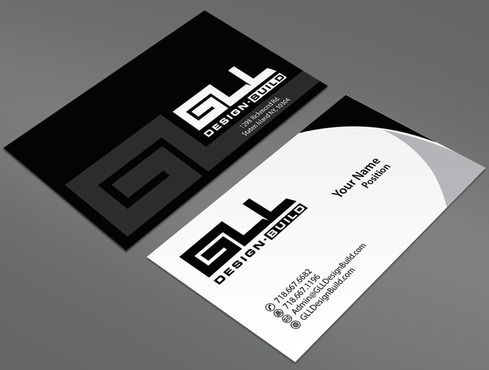 GLL Design-Build, Construction Management  Business Cards and Stationery  Draft # 33 by ArtworksKingdom
