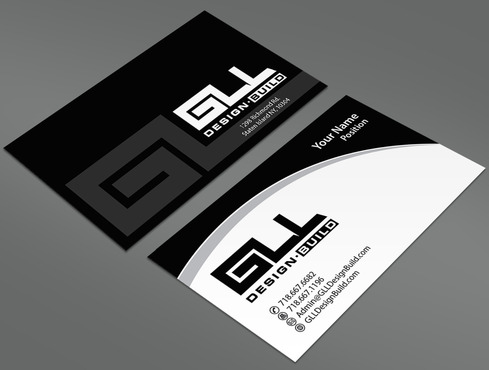 GLL Design-Build, Construction Management  Business Cards and Stationery  Draft # 34 by ArtworksKingdom