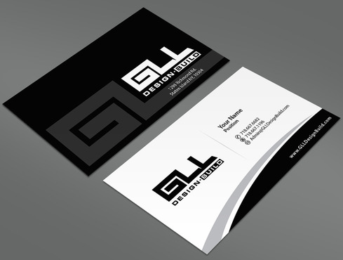 GLL Design-Build, Construction Management  Business Cards and Stationery  Draft # 36 by ArtworksKingdom