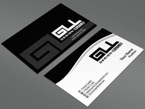 GLL Design-Build, Construction Management  Business Cards and Stationery  Draft # 37 by ArtworksKingdom