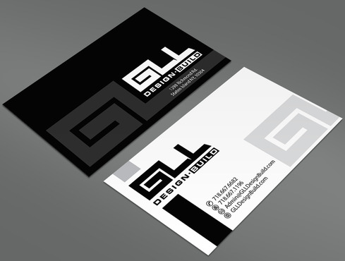GLL Design-Build, Construction Management  Business Cards and Stationery  Draft # 38 by ArtworksKingdom