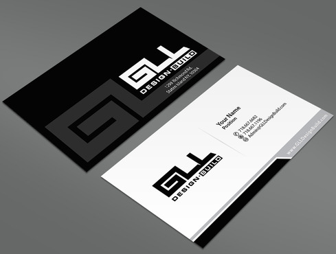 GLL Design-Build, Construction Management  Business Cards and Stationery  Draft # 41 by ArtworksKingdom