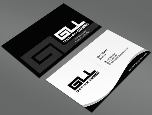GLL Design-Build, Construction Management  Business Cards and Stationery  Draft # 42 by ArtworksKingdom