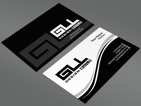GLL Design-Build, Construction Management  Business Cards and Stationery  Draft # 43 by ArtworksKingdom