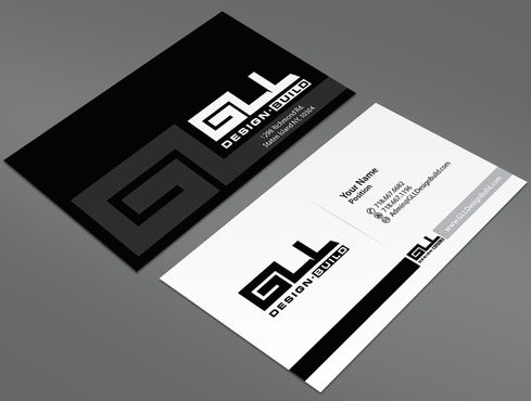 GLL Design-Build, Construction Management  Business Cards and Stationery  Draft # 44 by ArtworksKingdom
