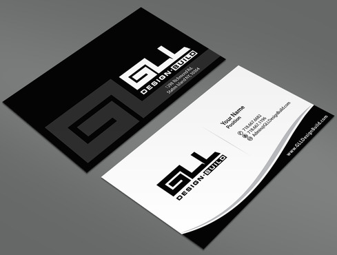 GLL Design-Build, Construction Management  Business Cards and Stationery  Draft # 45 by ArtworksKingdom