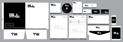 GLL Design-Build, Construction Management  Business Cards and Stationery  Draft # 80 by ArtworksKingdom