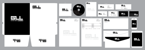 GLL Design-Build, Construction Management  Business Cards and Stationery  Draft # 79 by ArtworksKingdom