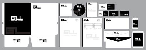 GLL Design-Build, Construction Management  Business Cards and Stationery  Draft # 81 by ArtworksKingdom