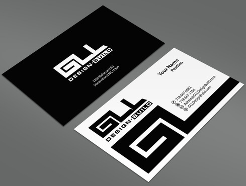 GLL Design-Build, Construction Management  Business Cards and Stationery  Draft # 82 by ArtworksKingdom