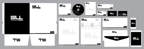 GLL Design-Build, Construction Management  Business Cards and Stationery  Draft # 84 by ArtworksKingdom