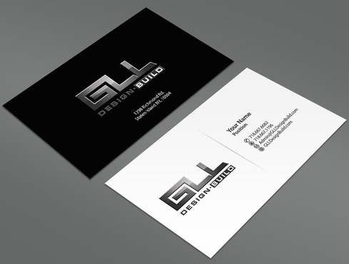 GLL Design-Build, Construction Management  Business Cards and Stationery  Draft # 152 by ArtworksKingdom