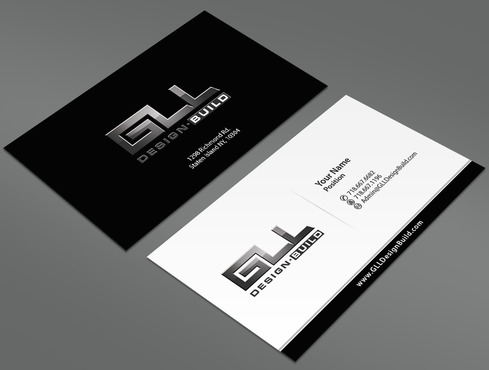 GLL Design-Build, Construction Management  Business Cards and Stationery  Draft # 154 by ArtworksKingdom