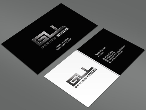GLL Design-Build, Construction Management  Business Cards and Stationery  Draft # 155 by ArtworksKingdom