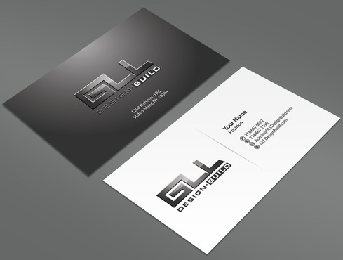 GLL Design-Build, Construction Management  Business Cards and Stationery  Draft # 157 by ArtworksKingdom