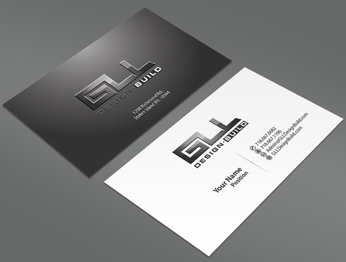 GLL Design-Build, Construction Management  Business Cards and Stationery  Draft # 158 by ArtworksKingdom