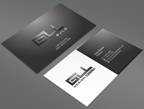 GLL Design-Build, Construction Management  Business Cards and Stationery  Draft # 160 by ArtworksKingdom
