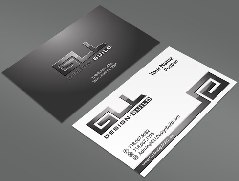 GLL Design-Build, Construction Management  Business Cards and Stationery  Draft # 161 by ArtworksKingdom
