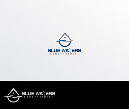 Blue Waters Construction A Logo, Monogram, or Icon  Draft # 394 by iDesign