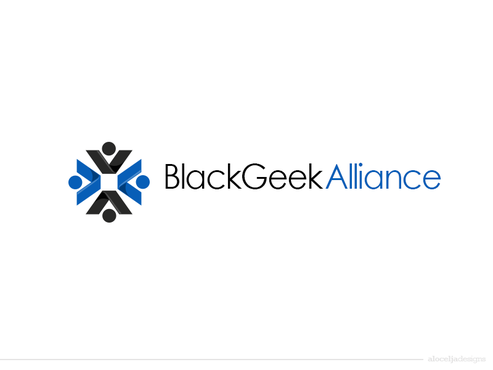 Black Geek Alliance A Logo, Monogram, or Icon  Draft # 293 by alocelja