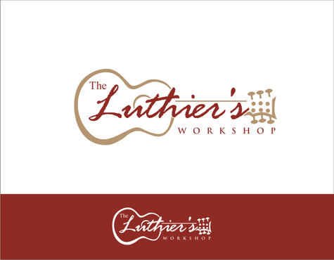 THE LUTHIER'S WORKSHOP Logo Winning Design by otakatik