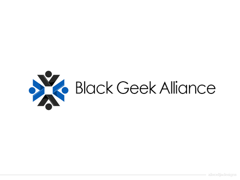 Black Geek Alliance A Logo, Monogram, or Icon  Draft # 299 by alocelja