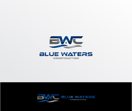 Blue Waters Construction A Logo, Monogram, or Icon  Draft # 411 by iDesign